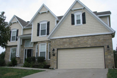 James Hardie Fiber Cement Siding Installation in Shawnee, KS