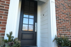 Fypon Colonial Entry Door Trim in Overland Park, KS
