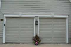 Fypon Colonial Garage Door Trim in Overland Park, KS
