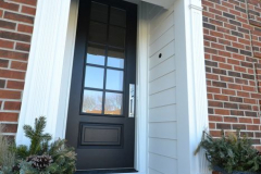 Fiberglass 8 Entry Door with Fypon Trim in Overland Park, KS