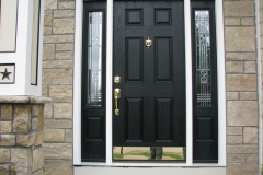 ProVia Heritage Fiberglass Entry Door with Sidelites in Shawnee, KS