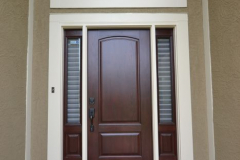 ProVia Signet Fiberglass Entry Door with Sidelites (Exterior) in Raymore, MO