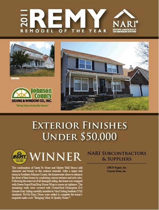 2011 Remy Remodeler of the Year