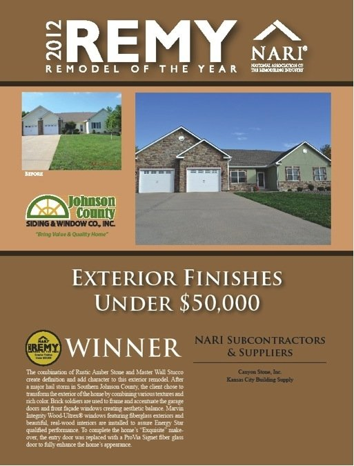 2012 Remy Remodeler of the Year
