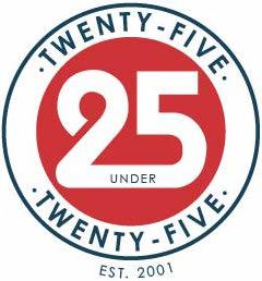Twenty Five under Twenty Five Award