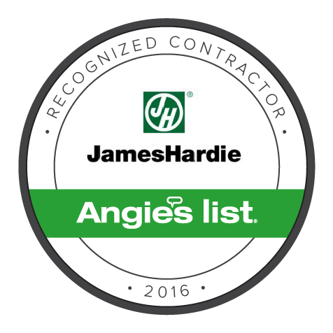 Angie's List Recognized Contractor