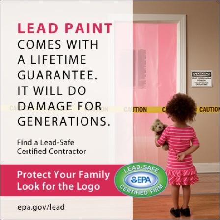 Lead Paint Certified Firm