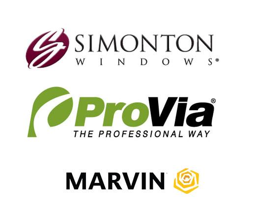 Simonton Vinyl Windows | Provia Entry & Patio Doors | Marvin Fiberglass Windows
