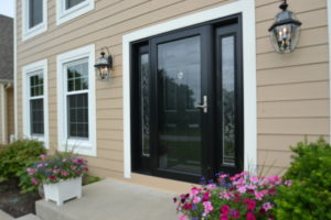 ProvVia front entry door with sidelights